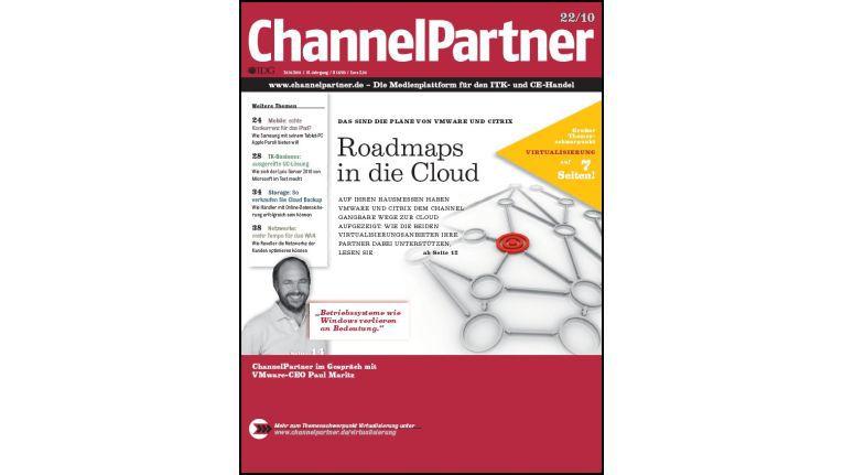 Titelseite der ChannelPartner-Ausgabe 22/10