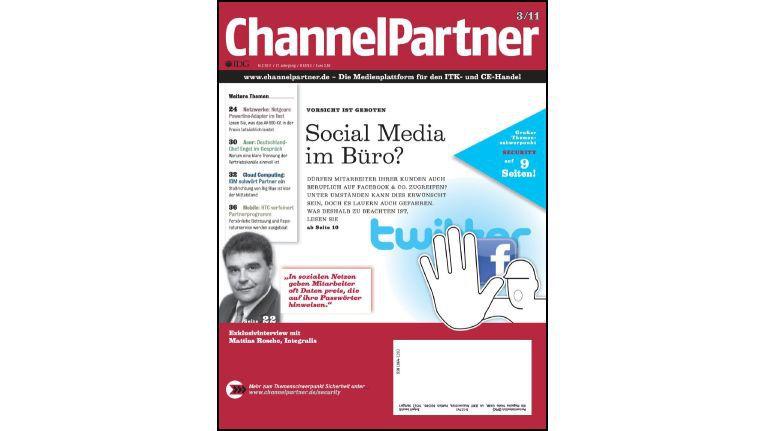 Titelseite der ChannelPartner-Ausgabe 3/11