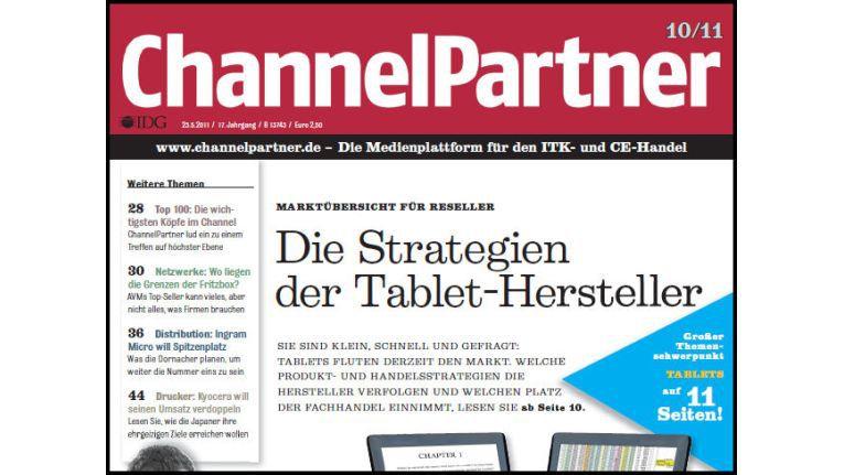 Titelseite der ChannelPartner-Ausgabe 10/11