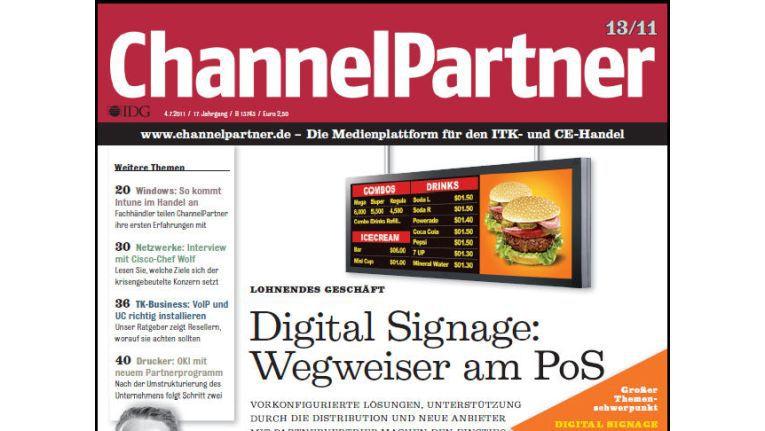 Titelseite der ChannelPartner-Ausgabe 13/11