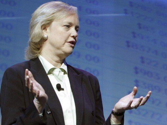"""Margarete (""""Meg"""") Whitman soll HP auf Kurs bringen und klare Botschaften ventilieren."""
