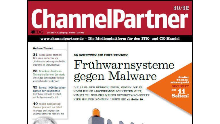 Titelseite der ChannelPartner-Ausgabe 10/12