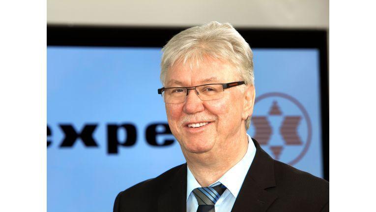 Expert-Chef Volker Müller hat der Verbundgruppe eine ehrgeizige Expansionsstrategie verordnet
