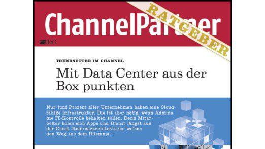 """""""Mit Data Center aus der Box punkten"""" (Ausschnitt)."""