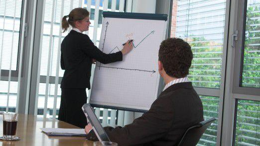 Im Consulting lässt sich schnell Karriere machen: Alle drei Jahre ein Schritt nach oben.