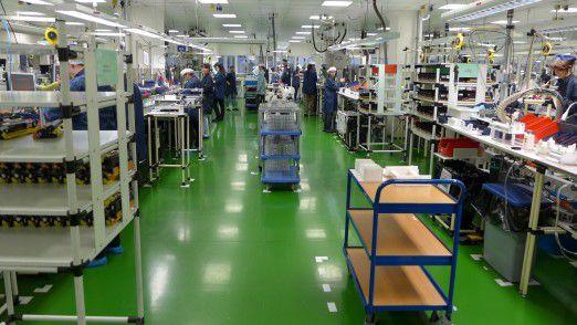 Rund 1,2 Millionen Brother-Tonerkassetten pro Jahr werden in Krupina wieder aufgearbeitet.