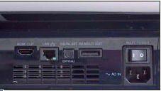 SCHNITTSTELLEN HDMI ist die wichtigste Schnittstelle, aber auch Komponente, Scart und Video-out stehen bereit