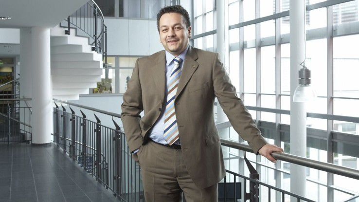 Dietmar Nick, Geschäftsführer von Kyocera Document Solutions Deutschland.