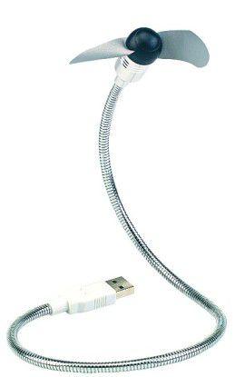 Hauptsache flexibel: Der USB-Ventilator von Pearl