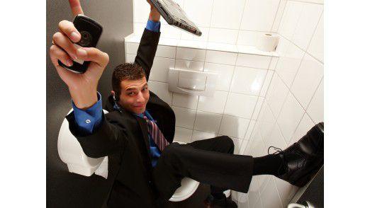 Das Sozialgericht Heilbronn bekräftigt: Auf der Toilette greift die Unfallversicherung nicht.
