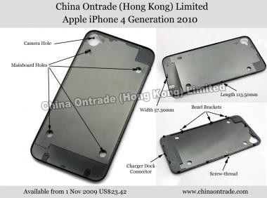 Apple iPhone 4G: Erste Bauteile im Handel?
