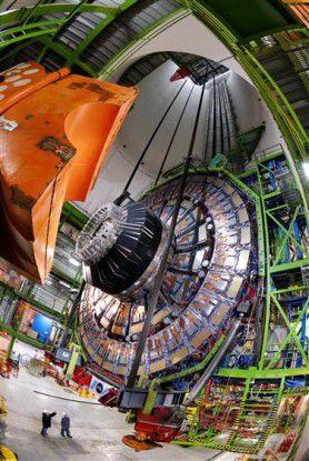 """Der """"Large Hadron Collider"""", der größte Teilchenbeschleuniger der Welt, erzeugt gigantische Datenmengen (Quelle: Cern)."""