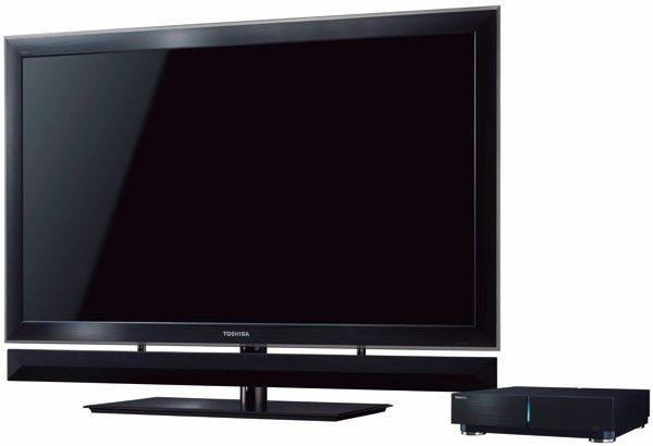 Toshiba Cell ZX900 - ein Fernseher, der auch flott rechnen kann.
