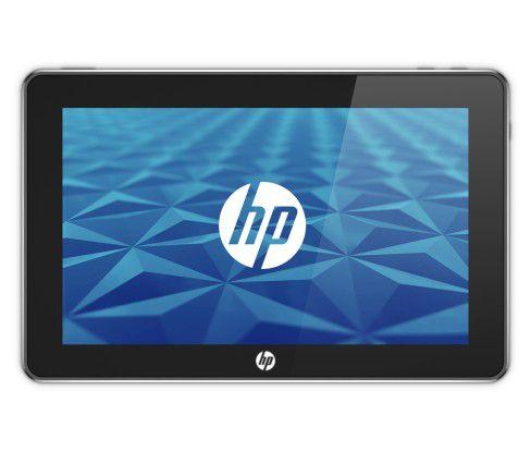 Der neue Tablet-PC Slate von Microsoft und HP - frontal ...