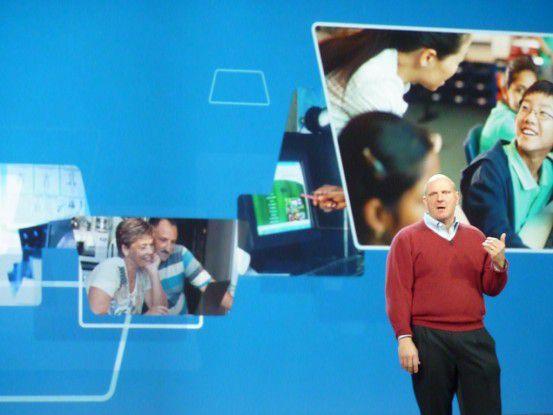 Geht es nach Microsoft-Chef Steve Ballmer, dann werden Tablet-Rechner nun doch endlich ein Renner.