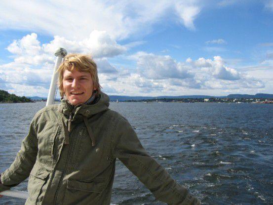 Michael Brütting genoss in seiner Freizeit Norwegens Natur. Die Kommunikation mit den Kunden war für den Wirtschaftsinformatiker weniger entspannend.