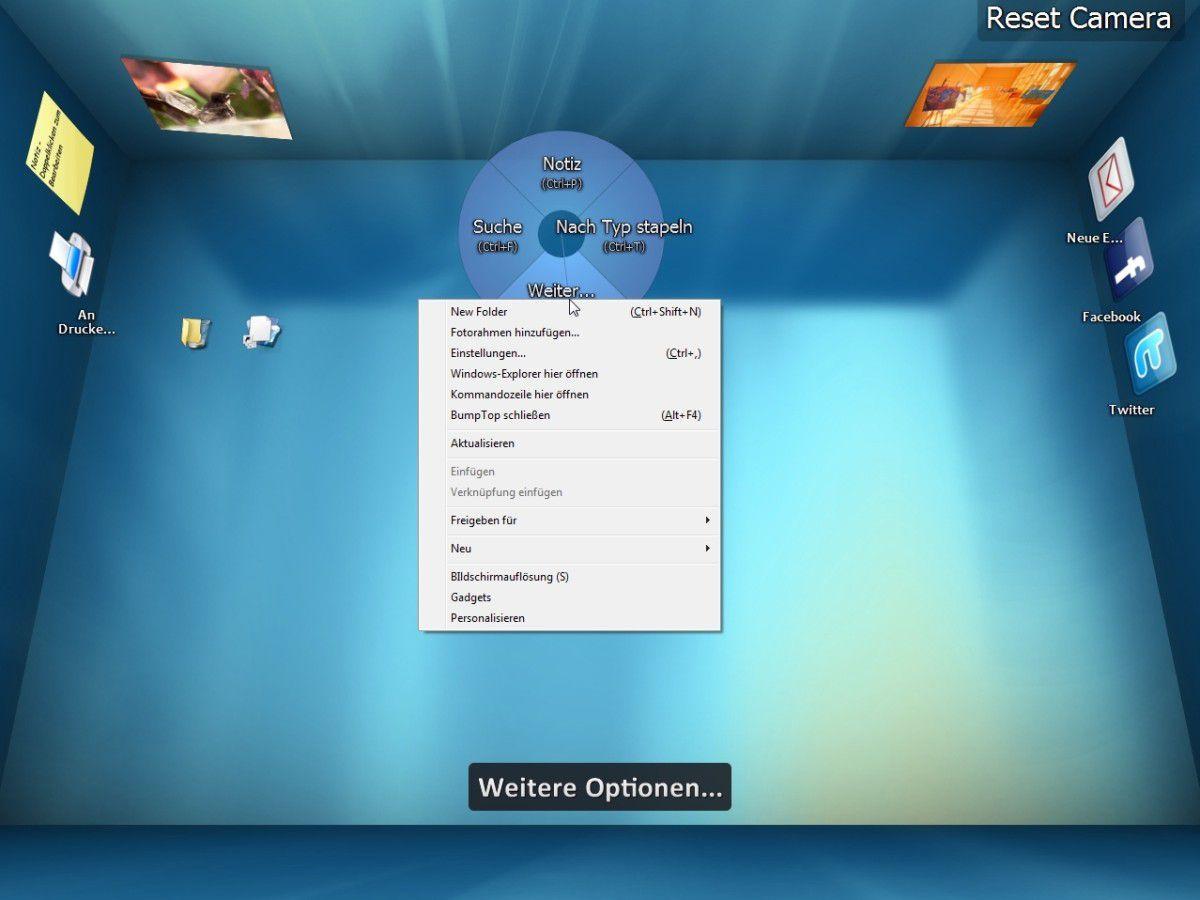 Kleine Helfer Bumptop 3d Desktop Für Windows
