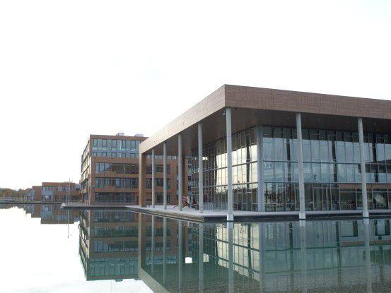 """Der """"Campeon"""" (= Campus von Infineon) in Neubiberg bei München"""