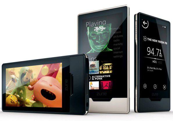 Microsoft wird seine Zune-Reihe vermutlich bald um ein Handy erweitern