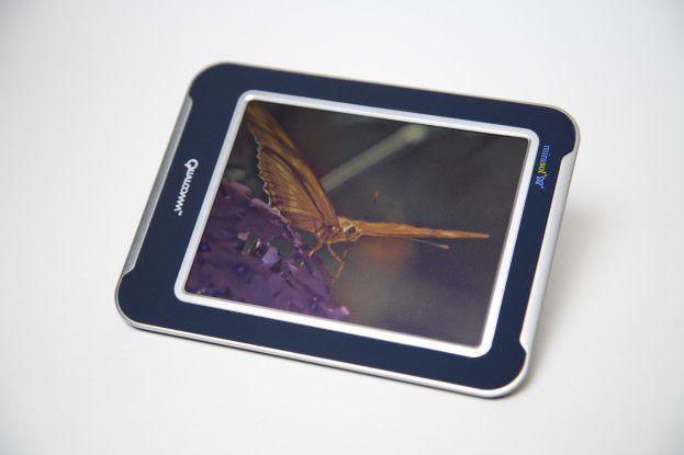 Die bei Mirasol genutzte Display-Technik kommt ohne Hintergrundbelauchtung aus. Quelle Qualcomm