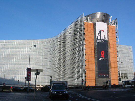 Dienstgebäude der EU-Kommission in Brüssel