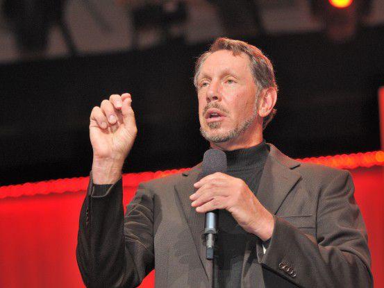 Oracle-Chef Larry Ellison zieht gern ordentlich gegen die SAP vom Leder.