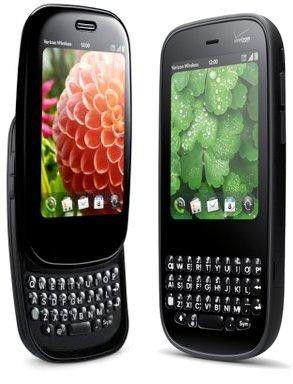 Die aktuellen Modelle Palm Pre Plus und Pixi Plus