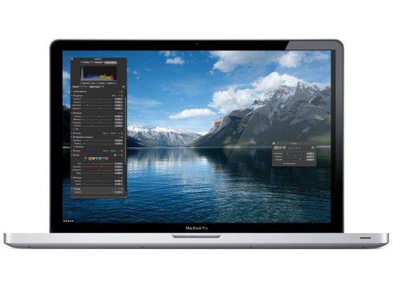 Im 17-Zoll-MacBook-Pro steckt nun ein Core i5 mit 2,53 GHz.