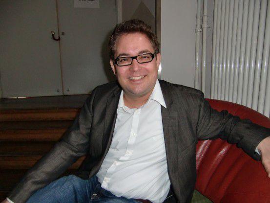 """Simon Schlauri hielt die Keynote der """"re:publica""""-Subkonferenz zum Thema Netzneutralität."""
