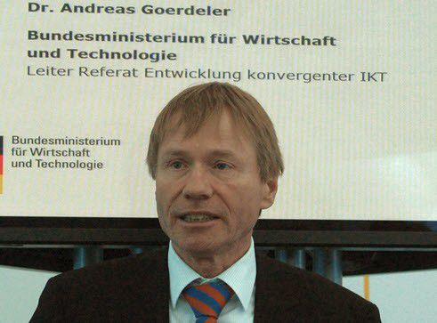 Hat Visionen zur Mobilität der Zukunft: Andreas Goerdeler vom BMWi.