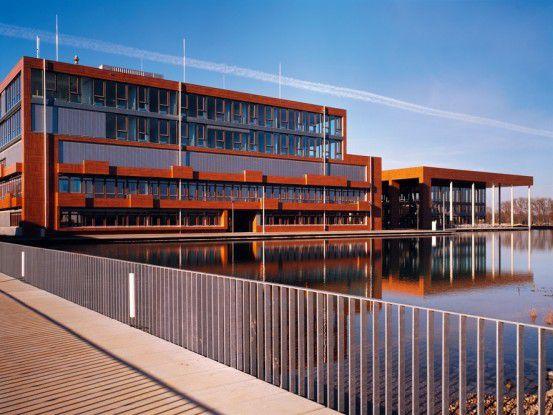 """Infineon-Firmengelände """"Campeon"""" in Neubiberg bei München"""