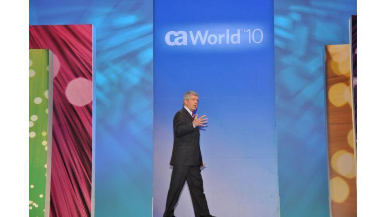 Keynote: Bill McCracken eröffnet die CA World 2010.