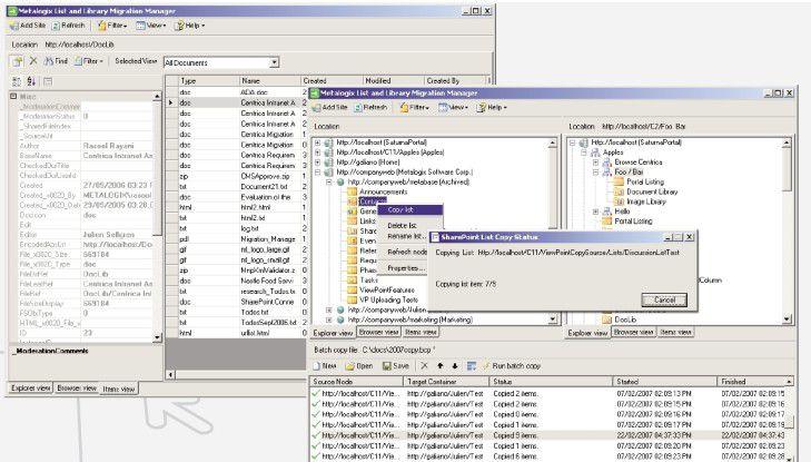 Der Metalogix List and Library Migration Manager unterstützt das SharePoint-Upgrade insbesondere bei größeren und vom Standard abweichenden Installationen.