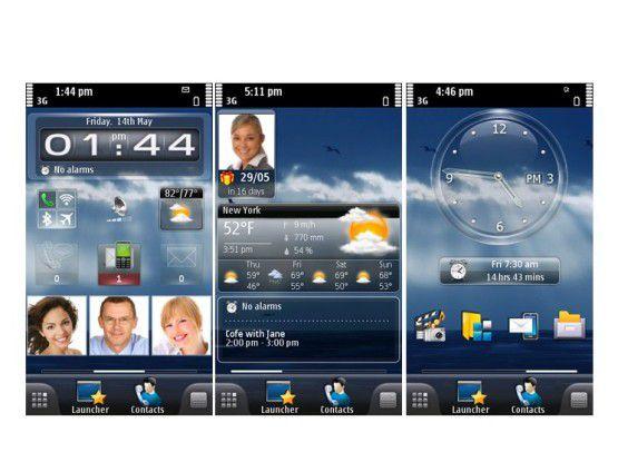 MobileShell for Symbian 3.5.5 Foto: SPB Software