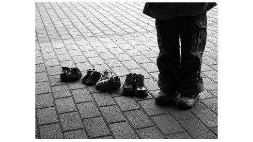 Manchmal sind die Schuhe des Chefs dann doch noch zu groß...