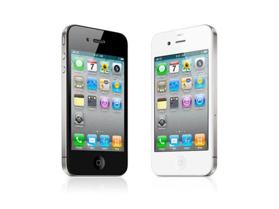 """Antennagate: Das iPhone 4 hatte Empfangsprobleme wenn es """"falsch gehalten"""" wurde."""