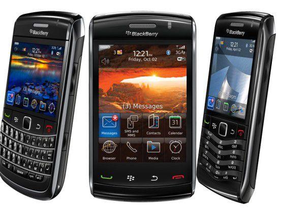 Die BlackBerry-Kommunikation ist den Scheichs zu sicher.