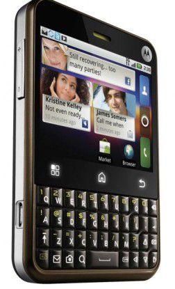 Motorola Charm: Android-Kasten im Blackberry-Design vorgestellt