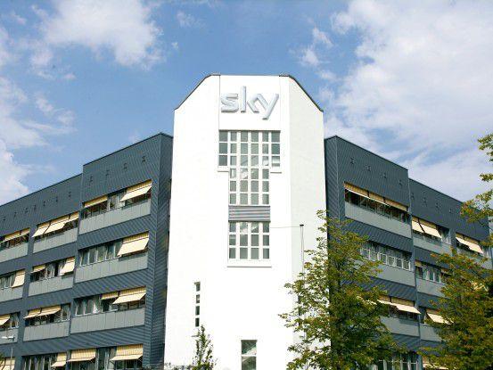 Die Zentrale von Sky Deutschland