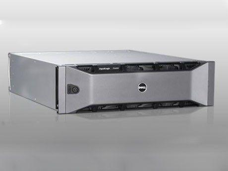 Das Speichersystem EqualLogic PS6000XVS wird als 19 Zoll Rack-Einschub geliefert. Es umfasst jeweils acht SAS- und SSD-Laufwerke.