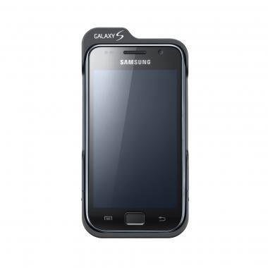 Ein Zusatz-Akku verschafft dem Galaxy S weitere 500 Stunden Standby-Zeit.