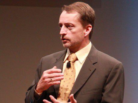 Pat Gelsinger, President und COO, EMC Information Infrastructure Products, sieht sein Unternehmen als führenden Cloud-Infrastrukturlieferanten, nicht als Serviceprovider.