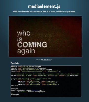 Mit nur wenigen Zeilen HTML5-Code wird ein universeller Video-Player implementiert, der in allen gängigen Browsern funktioniert.