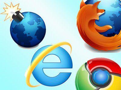 Wer macht das Rennen? Chrome, Firefox, Internet Explorer oder Minefield (Firefox)?