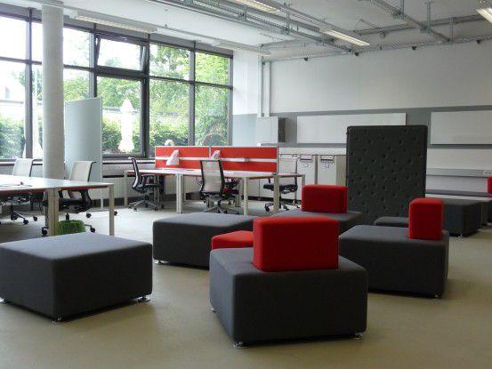 Das Straschek-Gründerzentrum an der Hochschule München fördert jährlich einige Teams, die es in die Selbständigkeit zieht.
