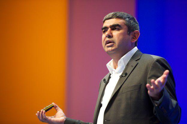SAP-CTO Vishal Sikka kann den Erfolg von HANA selbst noch nicht recht fassen.