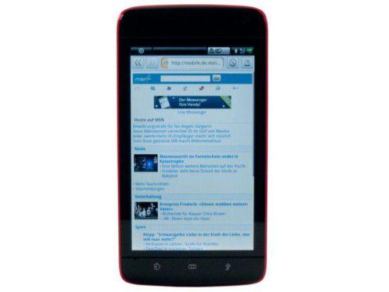 Tablet-PC mit 5-Zoll-Bildschirm: Dell Streak im Test
