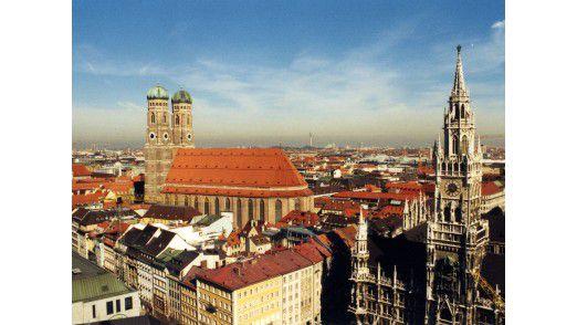 Die Stadt München ist am besten angebunden.