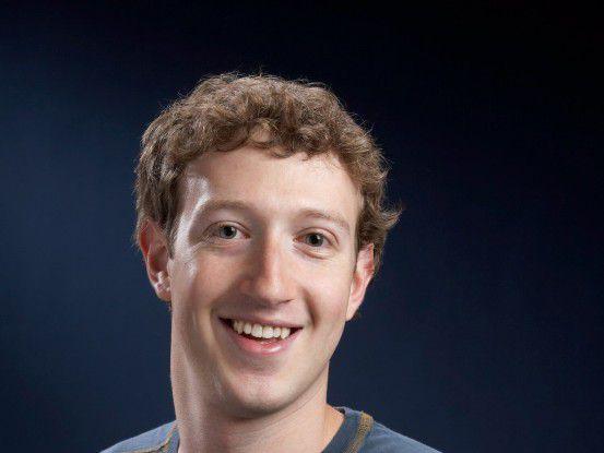 Facebook-Gründer und -CEO Mark Zuckerberg