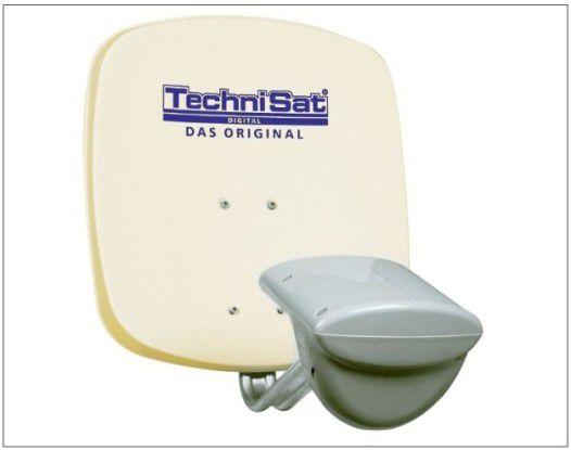 Die Multytenne von Technisat empfängt Daten gleich von vier Satelliten. Damit gibt's noch mehr Sender.